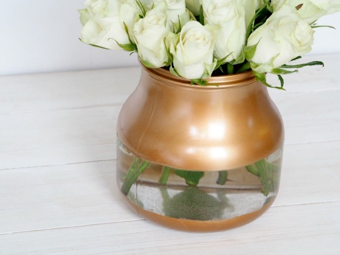 How To Make A Cheap Vase Into A Super Expensive Looking Diy Painted