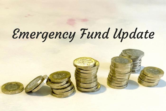 Emergency Fund Update