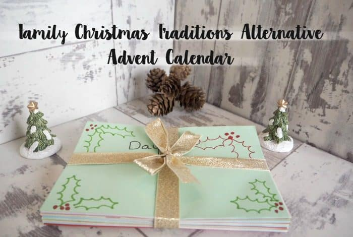 Family Christmas Traditions Alternative Advent Calendar