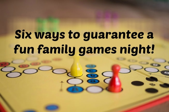 6 ways to have a successful Family Board Games Night….