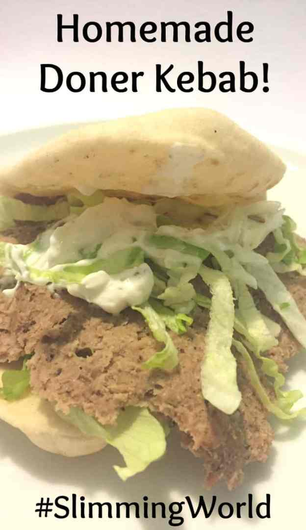 Homemade Doner Kebab #fakeaway #SlimmingWorld