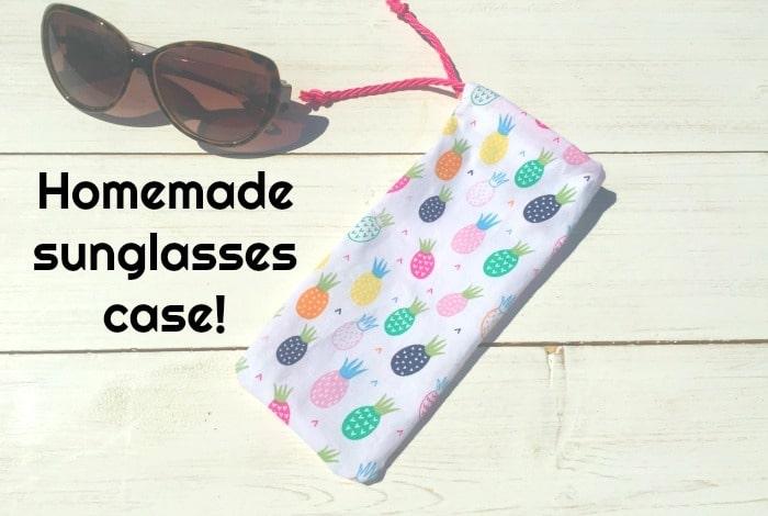 DIY Sunglasses case….