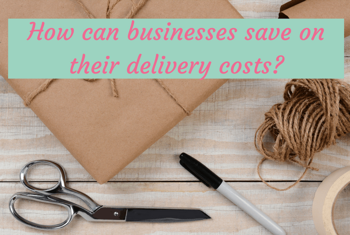 How can businesses save on their delivery costs?
