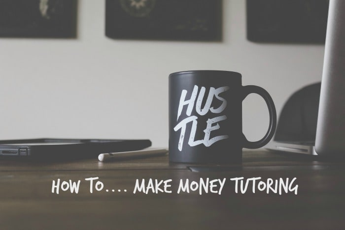 How to make money tutoring….