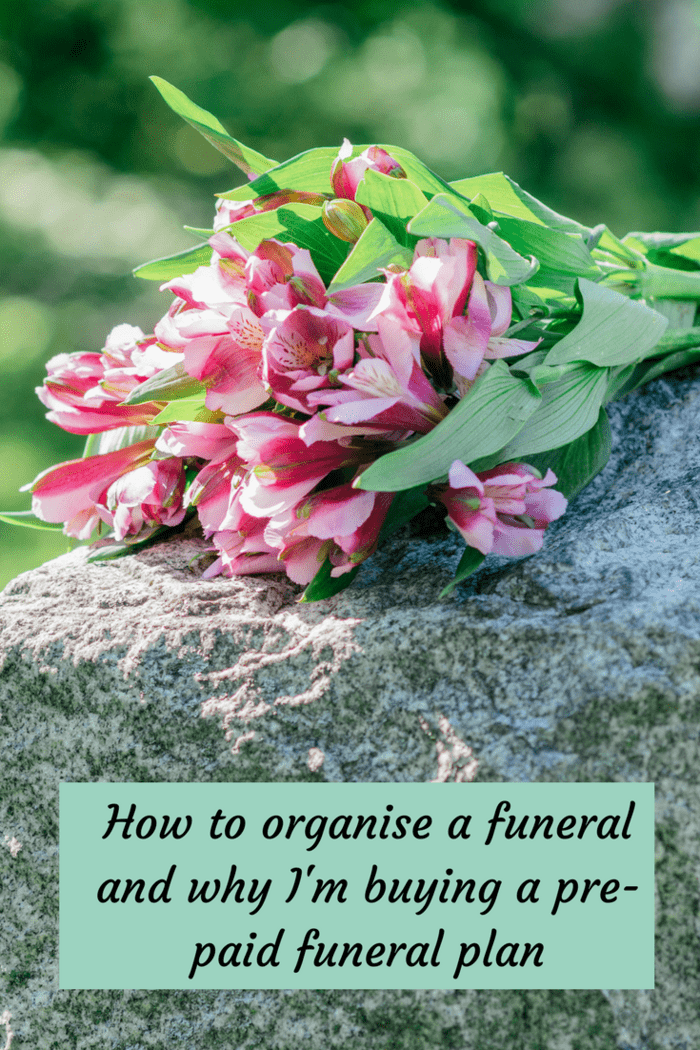 This is a bit of a depressing post today but one that I personally could have done with reading when I had to organise my Dad's funeral recently.  I searched for 'how to organise a funeral' but all of the things that came up first were funeral directors selling their services which is all good but didn't help me at the time so I thought I'd share my experience.