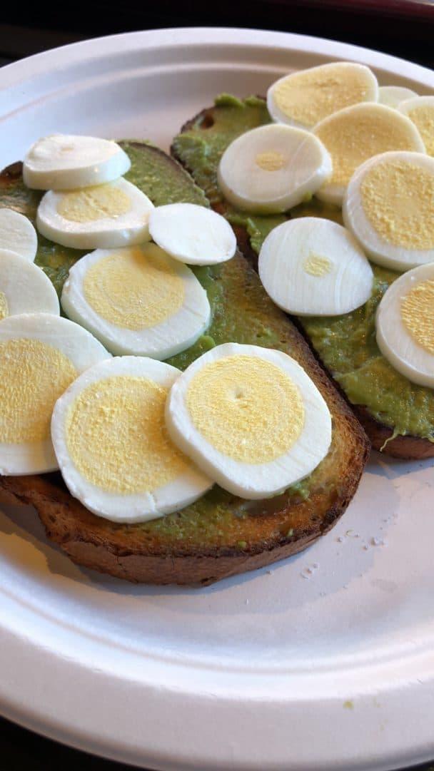 NOT avocado on toast