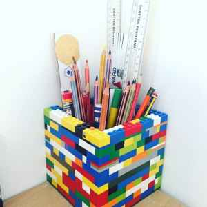 Upcycled Lego Pen Pot
