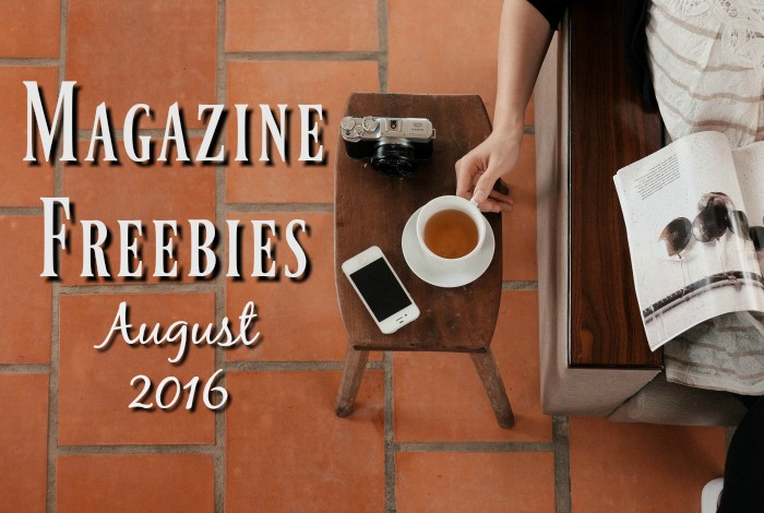 Free Benefit Dew The Hoola and more August Magazine Freebies….