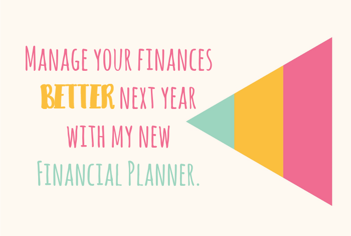 Completely Free 2018 Financial Planner Just for YOU….