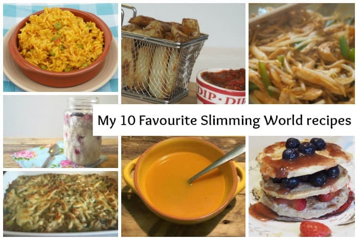 My top ten favourite Slimming World recipes….