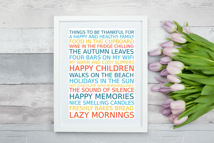 Free Poster Maker: Reasons to be thankful….