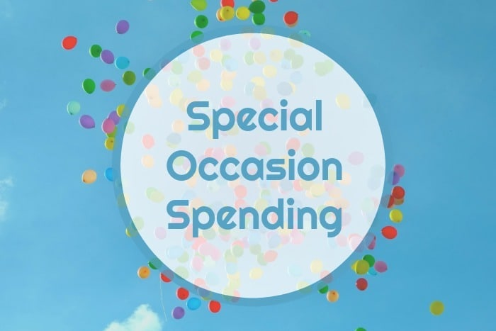 Special OccasionSpending is something I budget for through the year so my #OccasionalSpending is always accounted for in my spending.