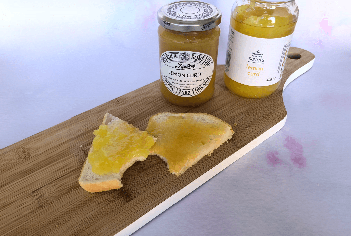 Value vs Premium - Morrisons Lemon Curd