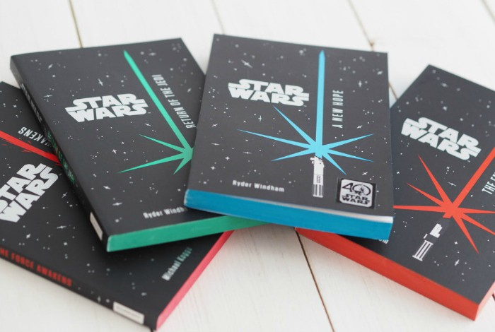 Win a set of Star Wars Junior Novels….