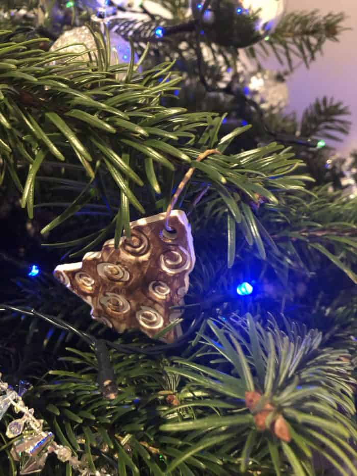 Decorations on the tree