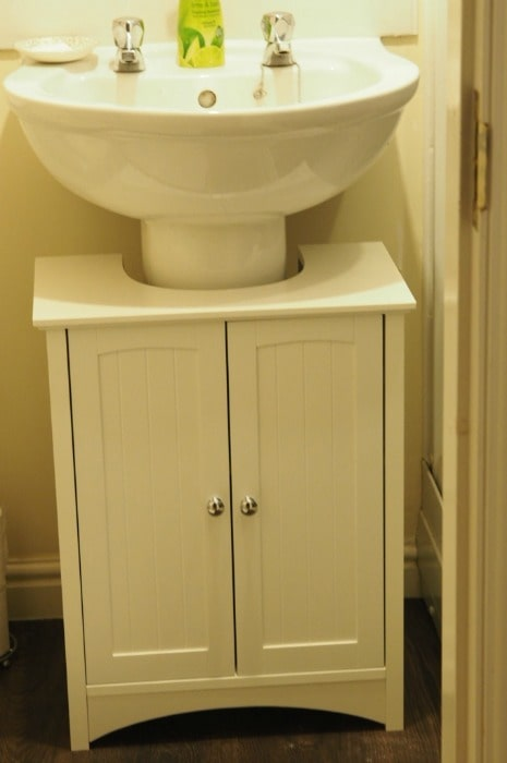 Our new under sink bathroom unit