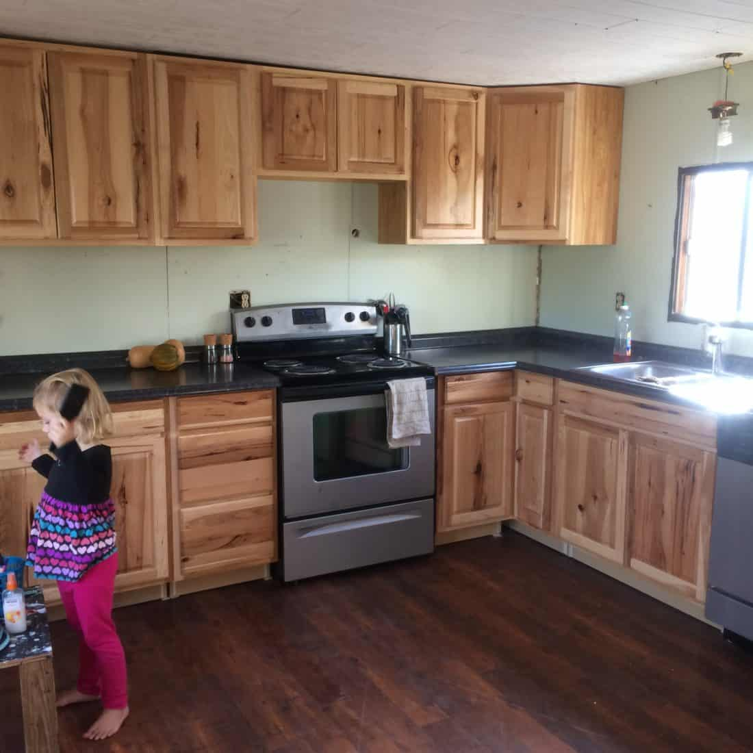 Our Mobile Home Remodel All In One Place The Frugal Farm