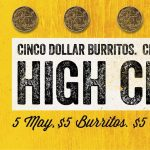 DEAL: Guzman Y Gomez – $5 Burritos & Coronas on Saturday 5 May 2018 (Cinco De Mayo)
