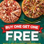 DEAL: Domino's Buy One Get One Free Pizzas (February 22)