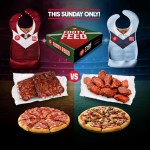 DEAL: Pizza Hut – Free Footy Bib with $29.95 Footy Feed (24 June)