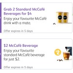 DEAL: McDonald's – $1 or $2 McCafe Coffees on mymacca's app (until November 26)