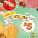 DEAL: Boost Juice – $5 Kombucha Range (23 January)