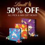 DEAL: Lindt Chocolate Cafés & Shops – 50% off Pick & Mix Boxes until 1 July 2019
