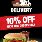 DEAL: Hungry Jack's – 10% off First Time Delivery Orders through Menulog