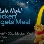 DEAL: Uber Eats BATSMAN Promo Code – Free 10 Chicken McNuggets Meal (10pm 15 June to 2am 16 June)