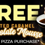 DEAL: Domino's – Free Salted Caramel Chocolate Mousse with Traditional/Premium Pizza Purchase (until 5pm 19 August 2019)