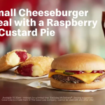 DEAL: McDonald's 4 for $4 – Small Cheeseburger Meal & Pie or Sundae