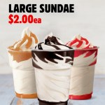 DEAL: Hungry Jack's App – $2 Large Sundae (until 25 November 2019)