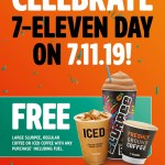 DEAL: 7-Eleven Day – Free Large Slurpee, Coffee, Iced Coffee or Coffee Melt with any purchase (Thursday 7 November 2019)