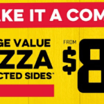 DEAL: Domino's – $8.95 Large Value Pizza + 2 Sides