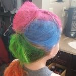 Mohawk Crazy Hair