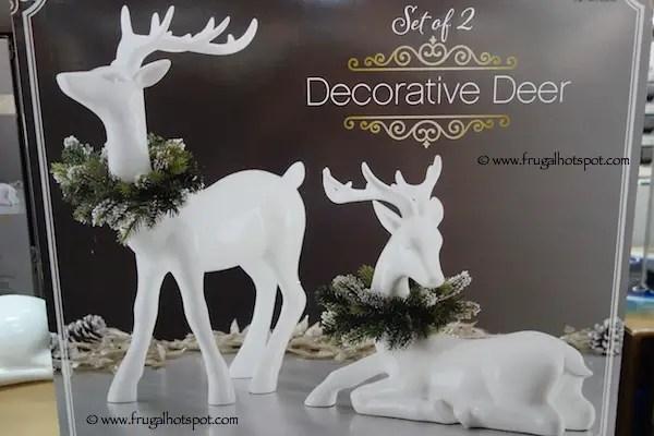 Costco Christmas Decorations 2017 Frugal Hotspot Deer Indoor