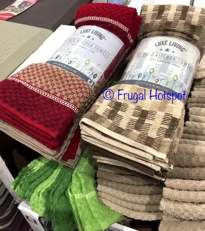 Costco Sale Luxe Living Kitchen Towel 10 Pk 899 Frugal Hotspot