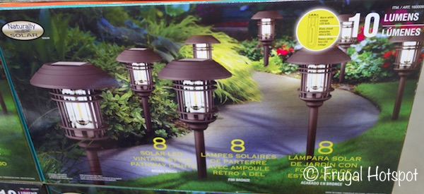 naturally solar led vintage style