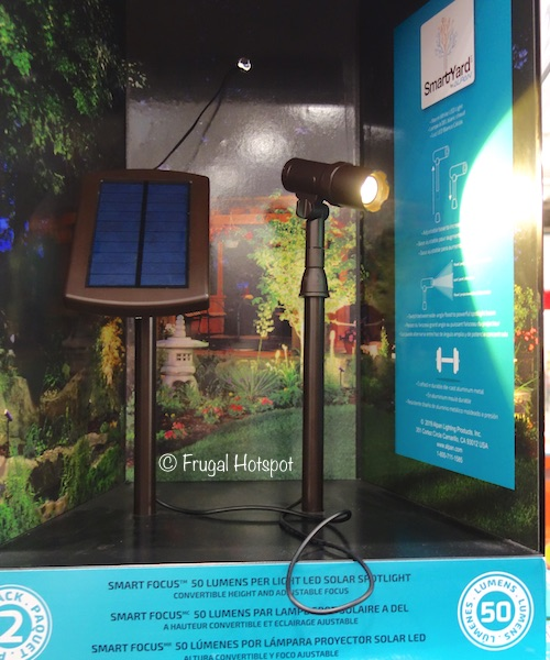 smartyard solar spot light 2 pack 19 99