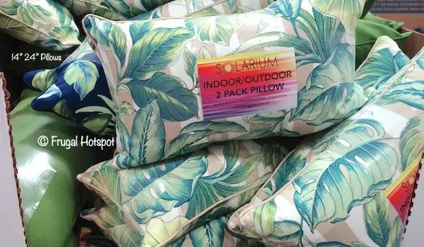 sunbrella pillows costco online