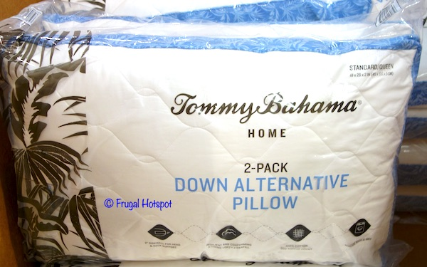 tommy bahama quilted pillow 2 pk 10 99