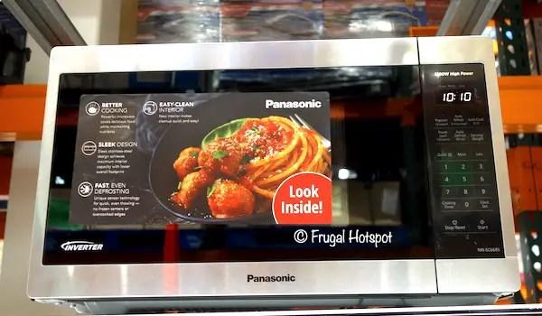 panasonic 1 3 cu ft microwave oven 99 99