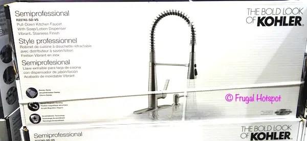 black kitchen faucet costco