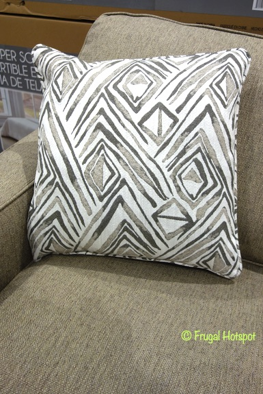 synergy home fabric sleeper sofa