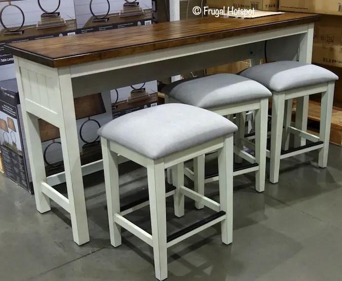 bayside furnishings sofa table set