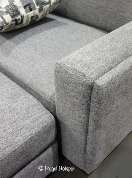 synergy maycen fabric sectional