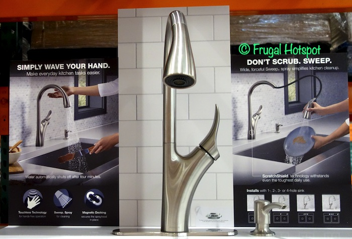 kohler touchless kitchen faucet 199 99