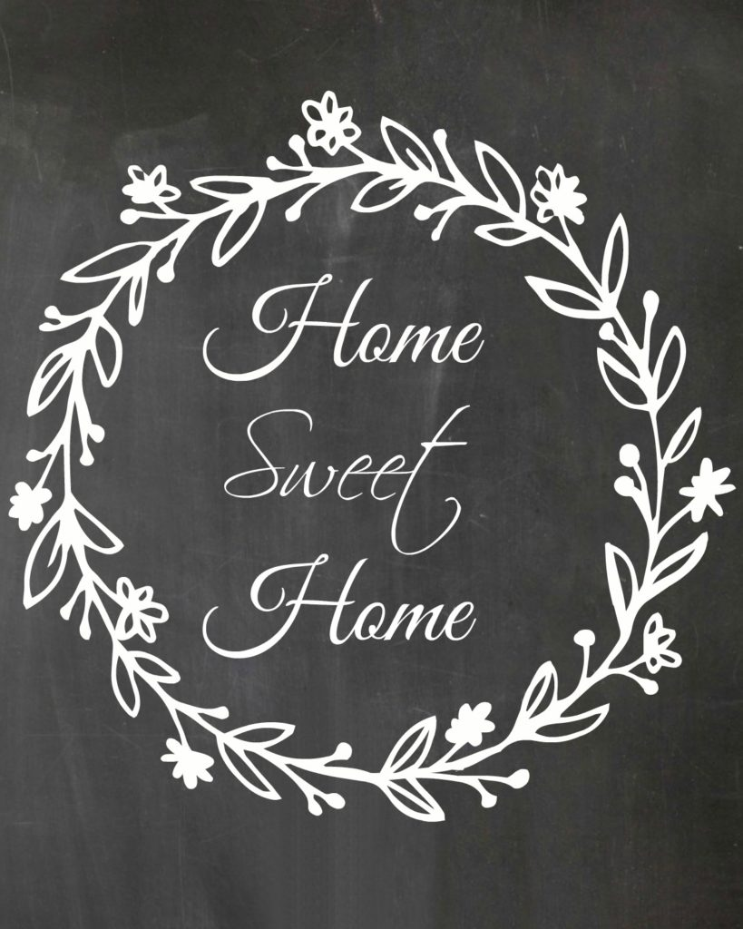 graphic regarding Home Sweet Home Printable identify Cost-free Printable - Household Cute Residence