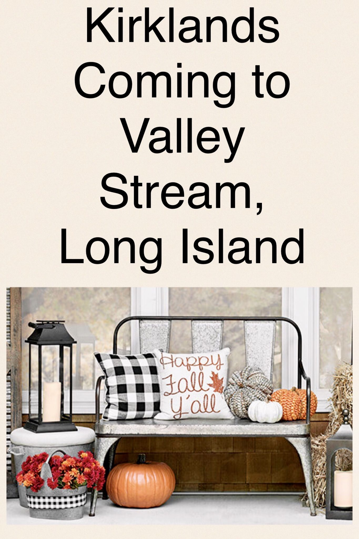 Kirklands Opening New Store Valley Stream, Long Island