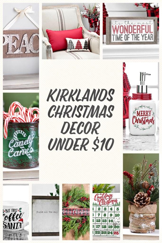 Christmas Decor From Kirklands For Under $10
